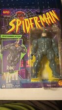 SPIDER-MAN SPECIAL COLLECTOR SERIES HEAD RAMMING ACTION RHINO 1994 TOYBIZ 47127