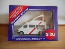 Siku Mercedes Wide Load Escort Van in White on 1:55 in Box  (Siku nr: 2019)