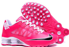 HOT NEW Women Pink & White Nike Deliver NZ Shox Running Shoes