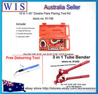 Double Flaring & Tube Bender Flaring Tool Kit Brake Line Air Conditioning w Gift