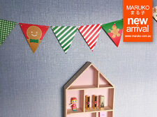 Xmas Ginger Bread Party Bunting Banner PT008