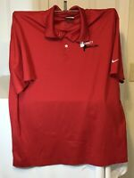 Nike Dri-FIT Golf Polo moisture wicking Polo shirt casual Size XL Excellent