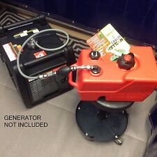 CHAMPION MODEL #100233 3400W INVERTER GENERATOR 3 GAL EXTENDED RUN FUEL SYSTEM