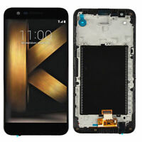 For LG K10 2017 M250 M250N LCD Display Touch Screen Digitizer Assembly + Frame