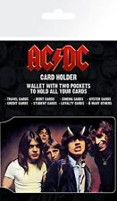 AC/DC Band Music Rock Card Holder Travel Pass Oyster Wallet