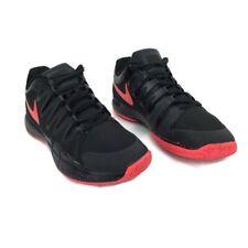 New listing Nike Federer ZOOM VAPOR 9.5 TOUR Black Hyper Punch Tennis Shoes 631458-060 Sz 10