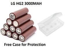 LG HG2 3000MAh 30A Li-ion 3.7V Rechargeable Battery Flat Top for Multi Use