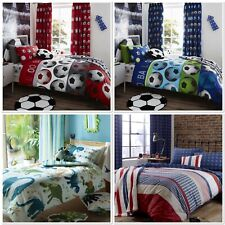 Catherine Lansfield Boys/Girls Kids Duvet Quilt Cover Sets single or double