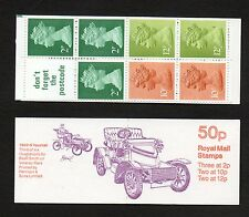 GB 1980 50p folded booklet SGFB12A including pane X849M booklet mint stamps