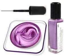 8ml Nail Art Fine Liner Farbe: Bright Lilac Shine, in Glasflasche, Nr. 18