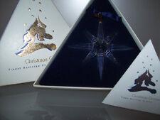 SWAROVSKI CHRISTMAS ORNAMENT WEIHNACHTSSTERN 1995 OVP ZERT