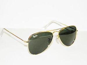 RAY BAN kids sunglasses RJ 9506S  JUNIOR AVIATORS 223/71 GOLD JR FREE S/H 9506