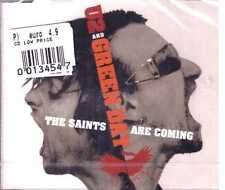 U2 AND GREEN DAY THE SAINTS ARE COMING CD