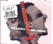 CDs CARTONCINO-SIGILLATO NUOVO NUMERATO GREEN DAY  /&  U2 Saints Are Coming