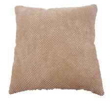 Chenille Spot Cushion Cover Cream / Latte 43x43cm