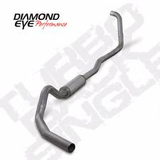 03-07 Ford Powerstroke Diesel DIAMOND EYE Exhaust Kit 4in TURBO BACK STAINLESS