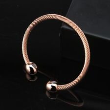 Magnetic Copper Bracelet Therapy Arthritis Pain Bangle Healing Cuff Jewelry