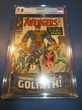 Avengers #28 Silver age 1st Collector 1st Goliath Key CGC 7.0 FVF Beauty Wow