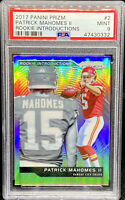 Patrick Mahomes II 2017 Panini Prizm Rookie Introductions #2 GEM MINT PSA 9 📈
