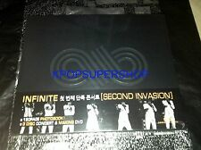 Infinite Second Invasion 1st Live Concert in Seoul 3 DVD Photobook NEW SEALED