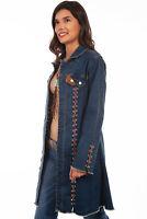 Scully Women's Long Denim Jacket HC640