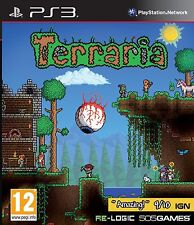 PS3 Terraria (Sony PlayStation 3, 2013) New & Sealed