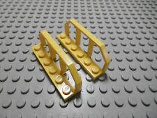 Lego 2 Eisenbahn Geländer 1x6 gelb     6583 Set 4552 7344 8459 7905