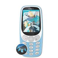 atFoliX 3x Proteggi Schermo per Nokia 3310 3G 2017 chiaro&flessibile
