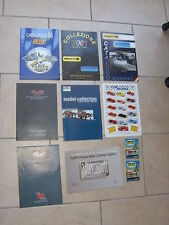 10 anciens catalogues SOLIDO + PROGETTOK + REVELL + UNIVERSAL HOBBIES + BANG...