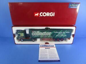 CORGI CC14101/A DAF 105 XF BOX TRAILER W.BAYBUTT, 1/50, MIB!