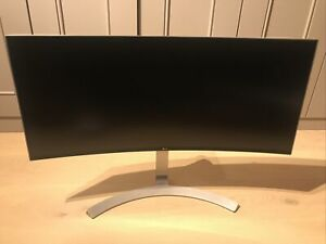 LG 34 inch White UltraWide WQHD IPS Curved LED Monitor