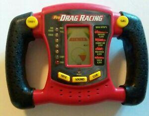Hasbro Pro Drag Racing Electronic Handheld Game Vibration Vintage 1997 Tested