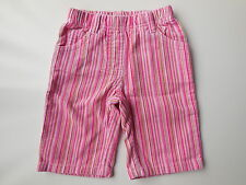 BNWOT Baby girl Target candy stripe corduroy pants size 000 Fits 0-3 mths