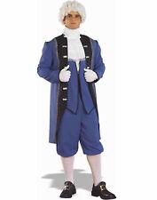 Colonial Man Mens Adult Renaissance Revolutionary Halloween Costume-Plus