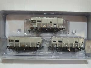 Accurascale ACC1005-HUO-O 3X British Railways HOP24/HUO 24.5T Hopper Wagon SET O