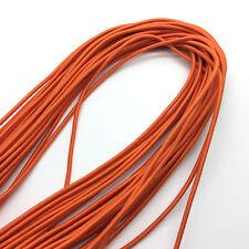 5yds Orange Trong Elastic Bungee Rope Shock Cord Tie Down DIY Jewelry Making