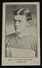 1912 - LACROSSE C61 - DR. LACHAPELLE #42 - NATIONAL - IMPERIAL TOBACCO CARD