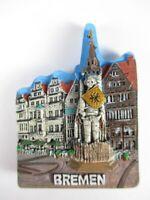Bremen Roland Figur Poly Reise Magnet Souvenir Germany NEU