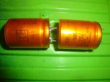 2pcs capacitor 100uF 385V ROE ROEDERSTEIN