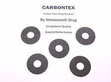 Penn Reel Teil Sargus 7000 - (5) Smooth Drag carbontex Drag Unterlegscheiben #SDP15
