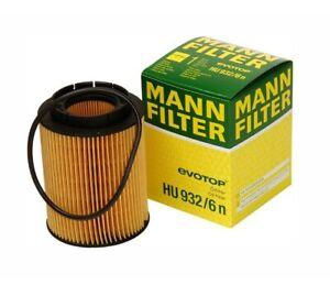 For VW Corrado Jetta Audi Q7 Porsche Cayenne Engine Oil Filter Mann HU 932/6 N