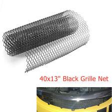 DIY 100x33cm Car Intercooler Hood Vent Protector Grille Net Mesh Grill Cuttable