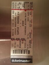 Adele Atlanta Tickets stub FULL TICKET Fox Theatre 2011 rare unused cancelled