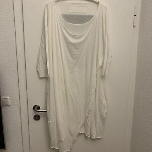 Rundholz BL Shirt Tunika Kleid BW Weiß OS XXL Oversized TOP