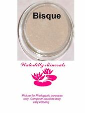 Bisque Minerals Bare Makeup Face Foundation Fair Light Full Size New/Sealed