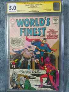 World's Finest - 131- 1st (first) appearance of Silver Age Crimson Avenger - CGC