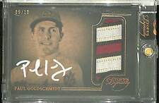 2014 Topps Dynasty Patch Autograph #AP-PG1 Paul Goldschmidt  No 9 of 10