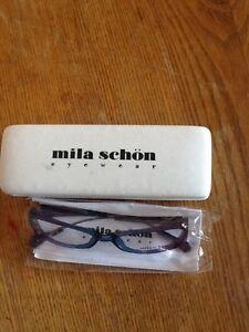 New Mila schon eyeglasses blue purple frames