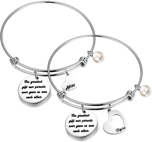 Big Sis Little Sisters Bracelet The Greatest Gift Our Parents Ever Gave Us was 2