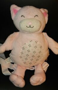 """Carter's Plush 13"""" Pink Cat Child Harness Backpack Safety Leash Strap 37"""""""